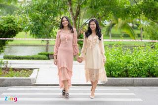 Hai chị em cùng dự thi Hoa hậu Việt Nam 2020