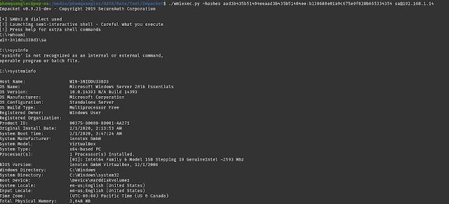 Python Impacket Tool - Công cụ Remote Execution mà system administrator chuyên nghiệp cần nên biết phần 2