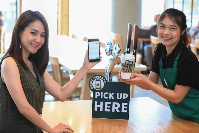 Starbuck เปิดตัวฟีเจอร์ Mobile Order & Pay บนแอปฯ Starbucks® Thailand