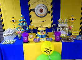 Minion Table Decorations