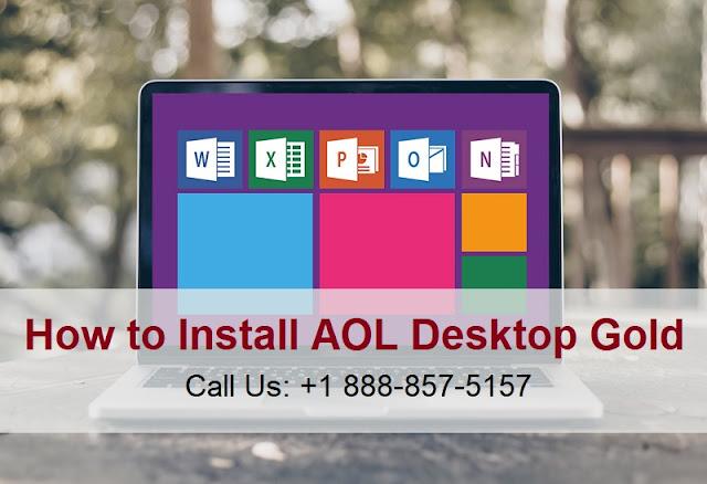 Install AOL Desktop Gold