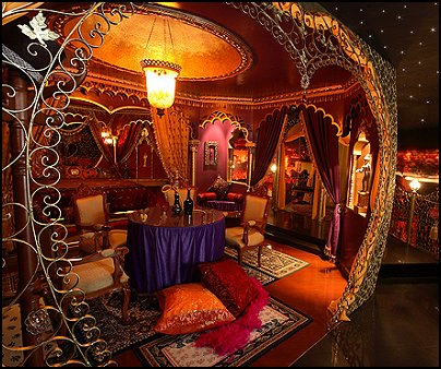 Moulin Rouge Victorian Boudoir style bedroom decorating ideas - Moulin Rouge style bedroom ideas - boudoir themed decor - Moulin Rouge decor ideas - French boudoir themed bedrooms - boudoir furniture - sexy themed bedroom decorating ideas - feathery lamps - bordello bedrooms - Romantic style bedrooms - French Victorian boudoir