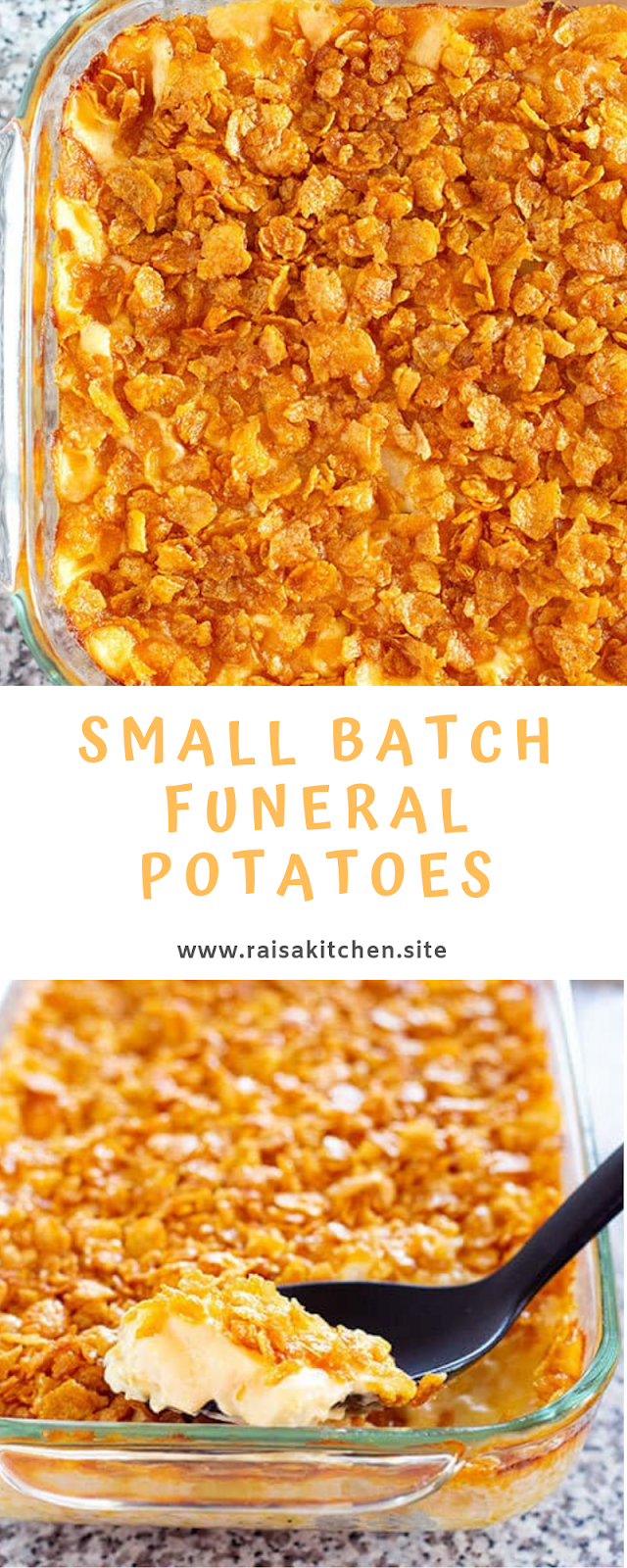 Small Batch Funeral Potatoes