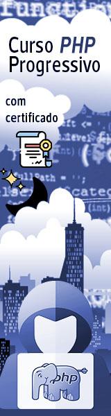 Curso PHP Progressivo
