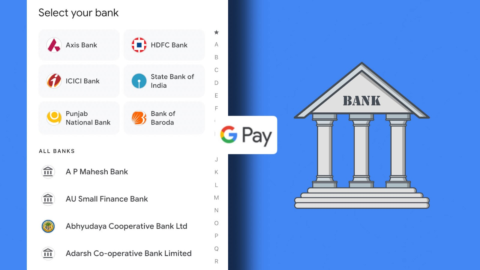 Fix unable to add bank account in Google Pay