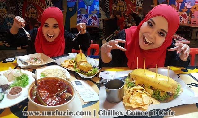 Chillex Concept Cafe Seri Iskandar Perak