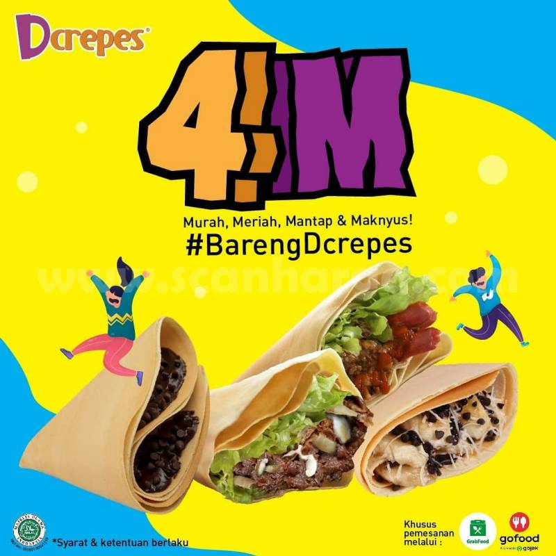 Promo DCREPES Paket 4M Harga Spesial Mulai Rp 36.000