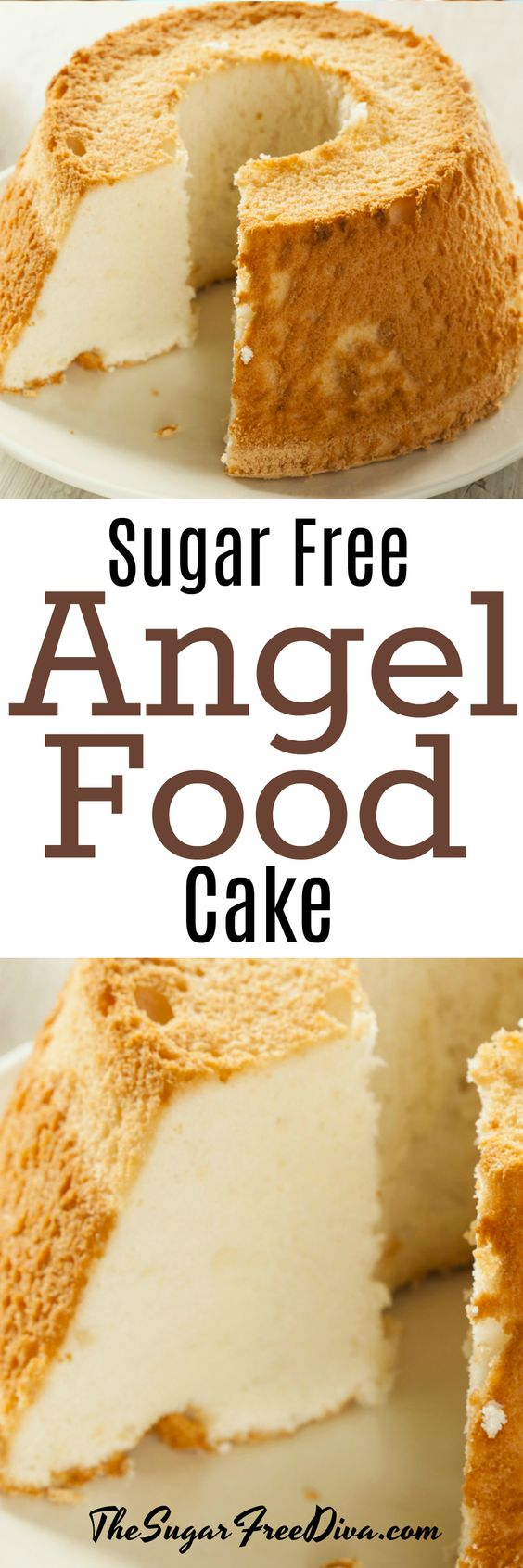 This Sugar Free Angel Food Cake recipe is a pretty standard recipe.
