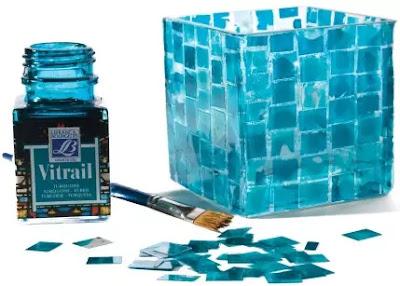 Vitrail glass paint