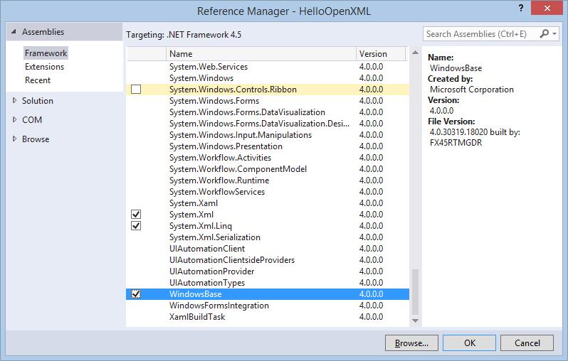 Export to Excel use OpenXML SDK ~ SharePoint 365