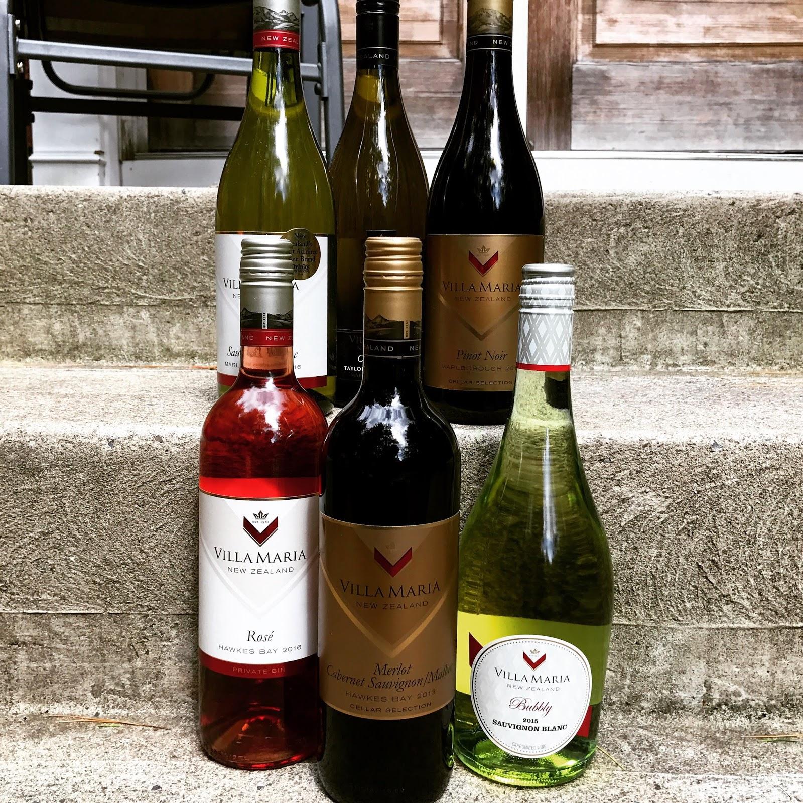 Snooth Virtual Tasting - Villa Maria | The Nittany Epicurean
