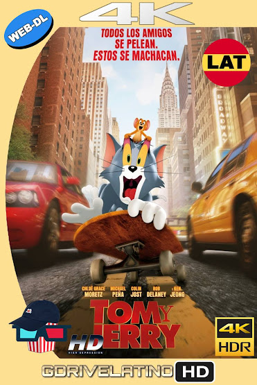 Tom y Jerry (2021) HMAX WEB-DL 4K HDR Latino-Ingles MKV