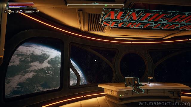 The Outer Worlds - обзор планеты из иллюминатора