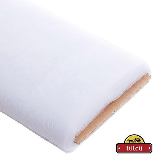 Beyaz Kristal Tül 50 Metre