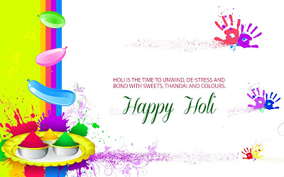 Happy Holi Images for Laptop