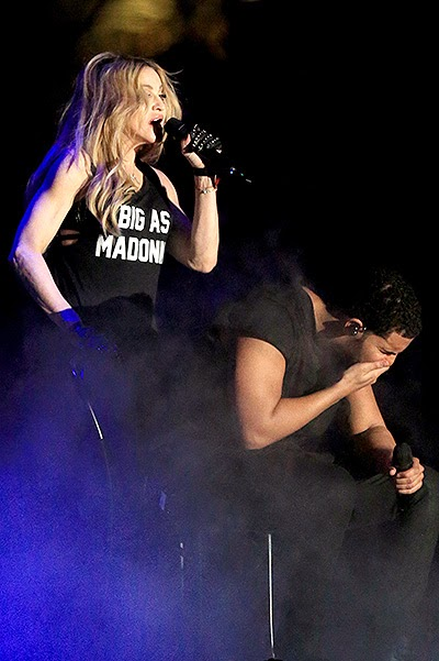 Drake did not like Madonna's Kiss