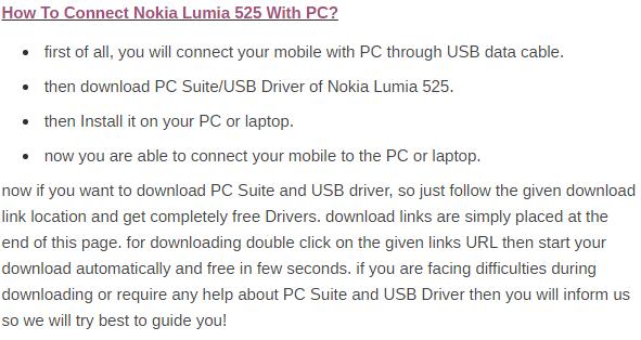 Download USB Drivers