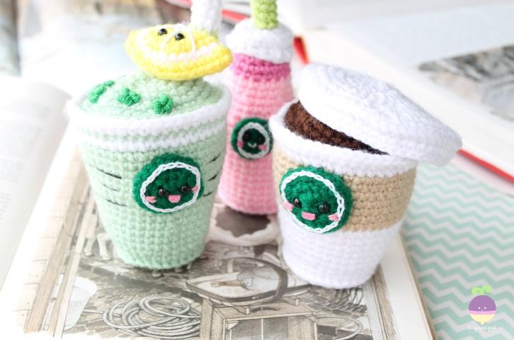 Amigurumi Starbucks : Amigurumi Food: Starcutes Buddies New Premium Pattern!