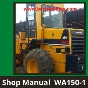 Shop manual wa150-1 wheel loader komatsu