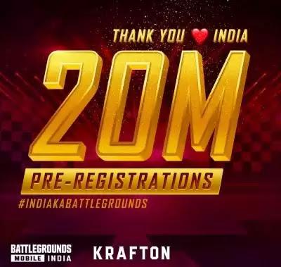 Business News: बैटलग्राउंड मोबाइल इंडिया गेम के लिए 2 सप्ताह में हुए 2 करोड़ से अधिक प्री-रजिस्ट्रेशन