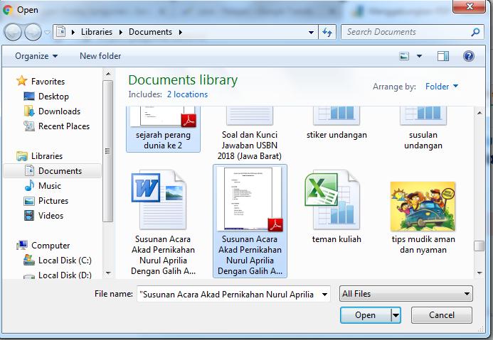 Cara Mudah Menggabungkan File Pdf Menjadi Satu Tanpa Software