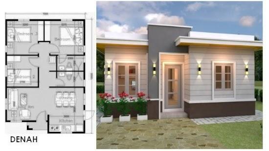 LINGKAR WARNA: 5 Desain Inspiratif Rumah Minimalis 3 Kamar Tidur