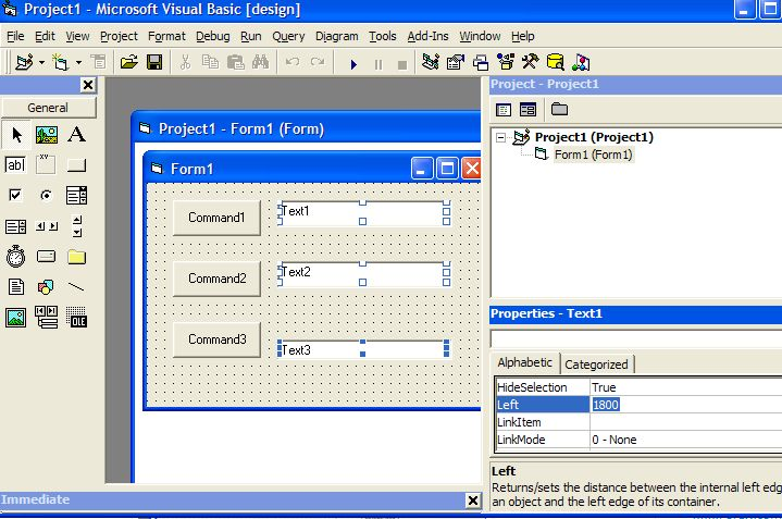 Learn Visual Basic 6: VB6 tips to quickly change controls