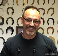Curtis Burns, horseshoe innovator