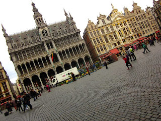 Maison du Roi on the Grand Place in Brussels