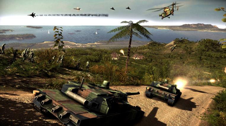 Wargame Red Dragon PC Full Español