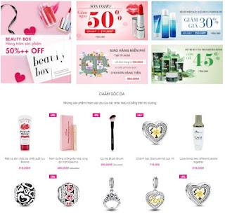 Giao diện Website bán hàng Mỹ phẩm - Theme Blogspot - Blogspotdep.com