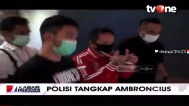 Tahan Ambroncius Nababan, Polri: Jangan Mainkan Jari untuk Memecah Bangsa!