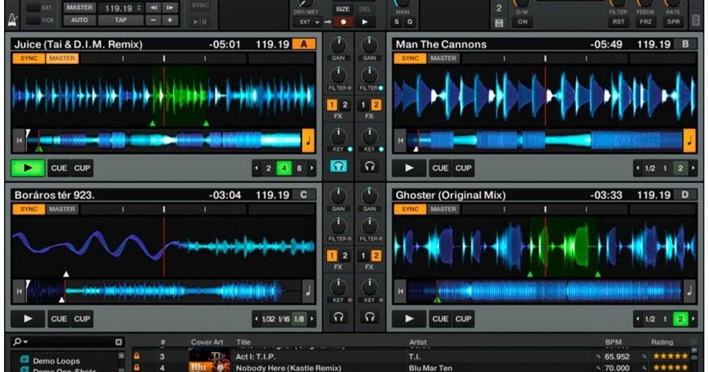 TRAKTOR PRO 2 V2 11 1 31   Zone Cracked - Virtual DJ skins