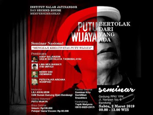 Seminar Nasional Putu Wijaya