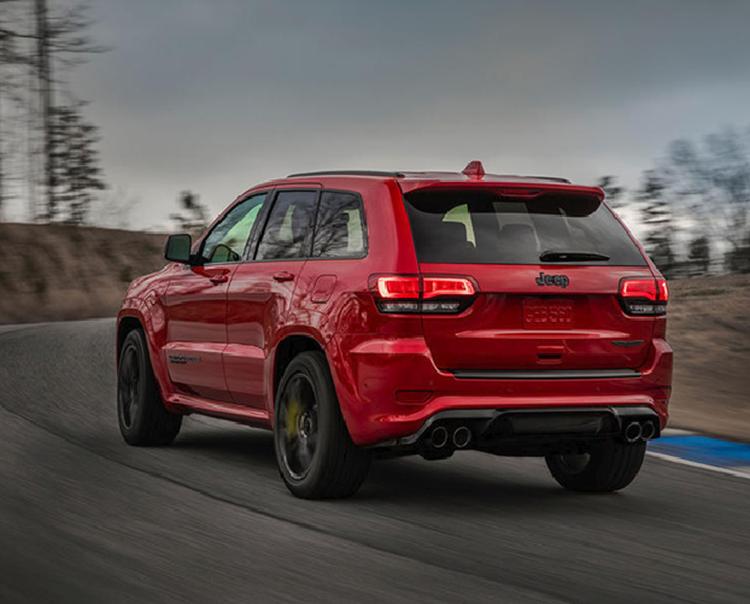 'Khủng long' Jeep Trackhawk độ 888 mã lực mạnh như siêu xe