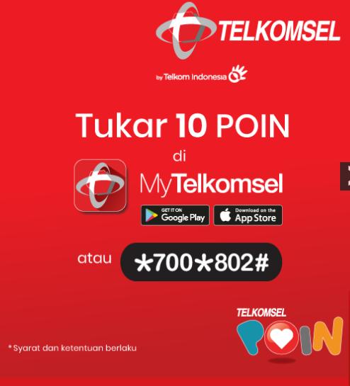 Cara Mendapatkan Poin Telkomsel Cepat Tanpa Isi Pulsa 2020
