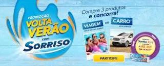 Promoção Pasta de Dente Sorriso 2019 Carro 0KM, Viagem e Prêmios na Hora