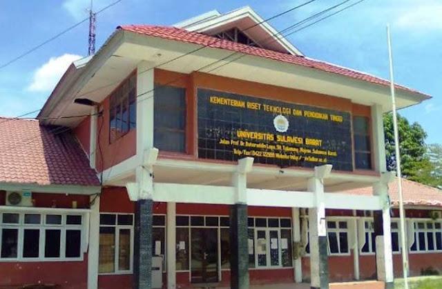 Daftar Perguruan Tinggi Negeri di Provinsi Sulawesi Barat