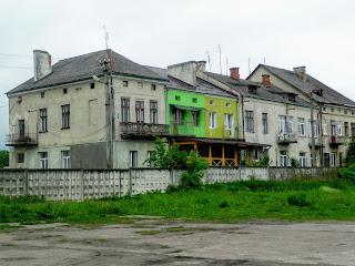Ходоров. Жилые дома на ул. Гонты