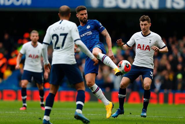 تشيلسي يتغلب على توتنهام في مباراة عصيبة بهدفين مقابل هدف