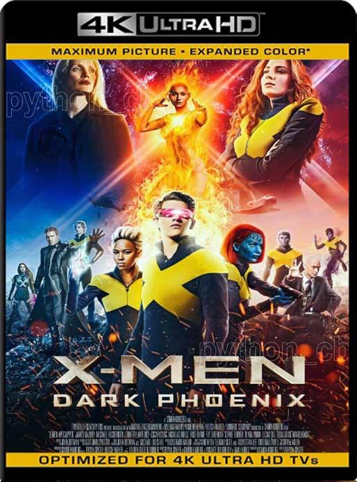 X-Men: Dark Phoenix (2019) 4K 2160p UHD [HDR] Latino [GoogleDrive]