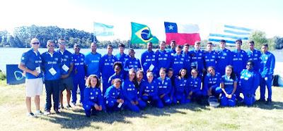 Atleta da Ilha Comprida conquistou a prata no Sul Americano de Canoagem