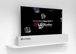 LG Display conveys a 65-inch rollable OLED