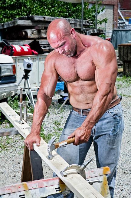 hard-working-shirtless-bald-masculine-muscle-daddy-sexy-mature-neighbor