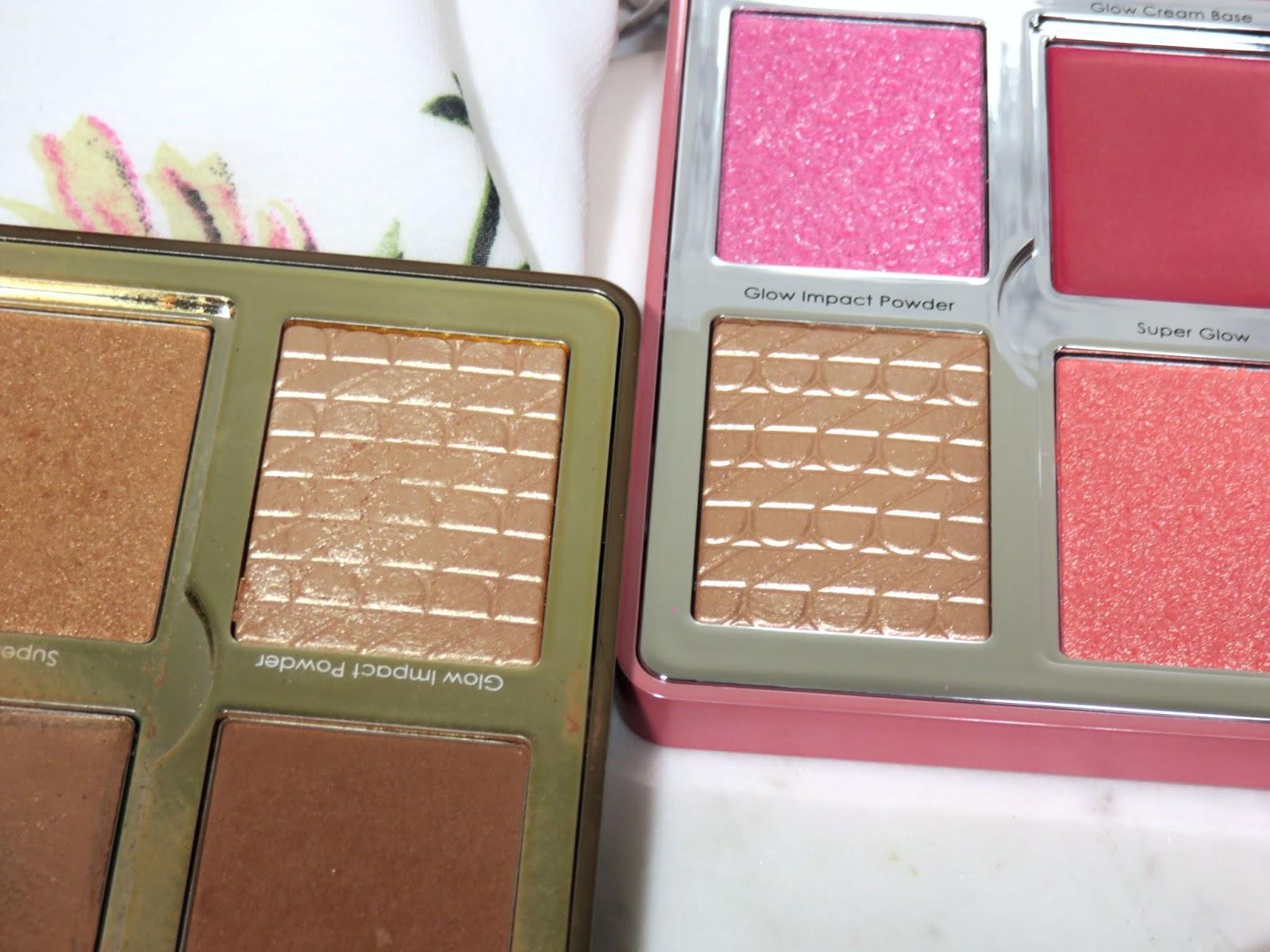 Natasha Denona Love Glow Cheek Palette Comparison