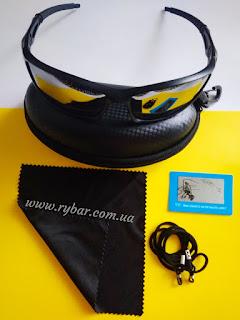 Поляризаційні сонце-захисні окуляри (чорне дзеркало 601)