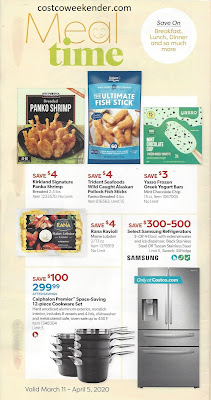 Costco march 2020 coupon book