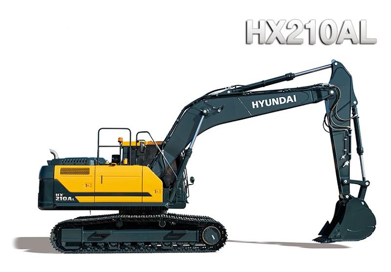 Hyundai Excavators HX210AL