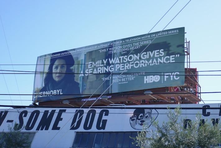 Emily Watson Chernobyl SAG Award nominee billboard