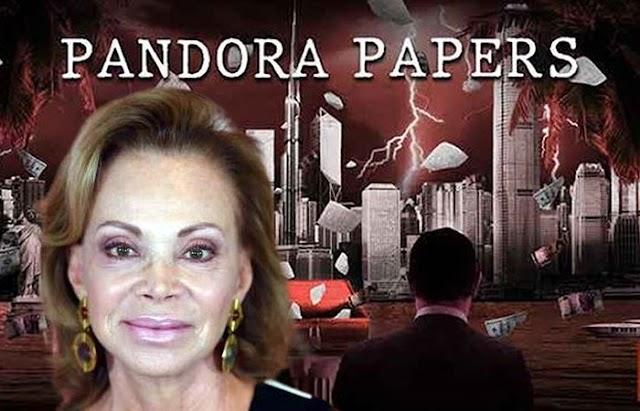 La cantante Paloma San Basilio y otros españoles famosos con sociedades offshore reveladas en los Pandora Papers